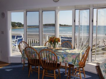 Oceanfront-Goose Rocks Beach 3 BR, 2.5 bath -Full 4/1-11/24/18 Avail May 29 -6/2