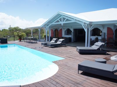 Photo for Villa CASA BLANCA for 6 People with Private Pool and Sea View