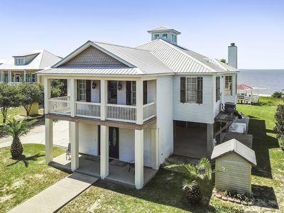 Make wonderful memories at Sandhill Beach House, on your own PRIVATE BEACH