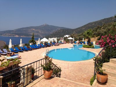Photo for Beautiful 2 Bedroom Apartment, Saneil complex, Kalkan, Spectacular Sea Views