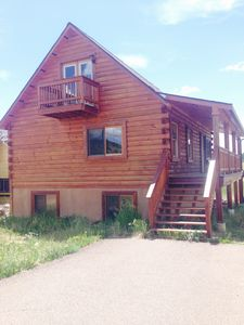 Photo for Scenic Custom Log Lodge in Downtown Cripple Creek