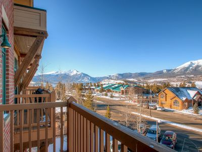 Photo for Centrally located studio with stunning views near shopping, dining, and skiing!