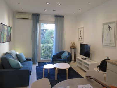 Photo for 45m2 loft, former art gallery, Antibes, near sea and old town with parking