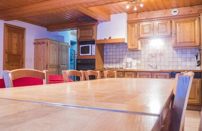 "Photo for apartment ""myosotis"" in cottage 20 m from the ski lift of the village and shops"