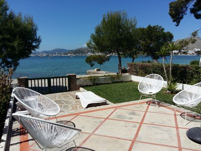 Photo for Spacious Property on the Pine Walk, Covered terrace with Sea Views. Wifi/Air Con