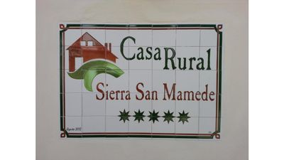 Photo for Rural House Sierra San Mamede -2P
