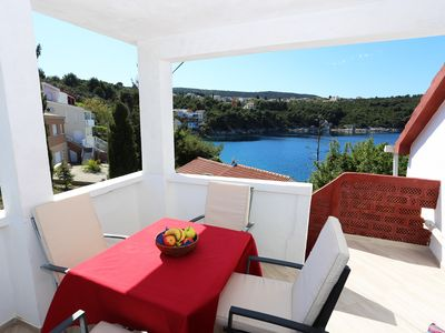 Photo for Apartment located directly on the sea, with sea views and stunning views.