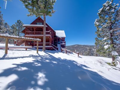 Photo for BEAUTIFUL 8 BEDROOM  / 8 BATH SKI-IN/OUT MOUNTAIN HOME 100-150 FEET FROM SLOPES