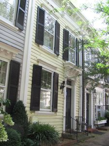 Photo for Comfortable townhome steps to Georgetown's top spots w parking + garden