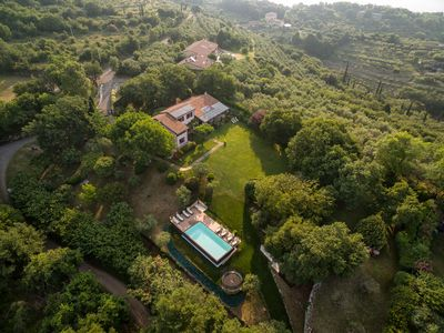 Photo for Wonderful villa on panoramic hills above Verona