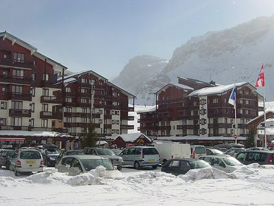 Photo for One bedroom Apartment, sleeps 4 in Tignes with WiFi