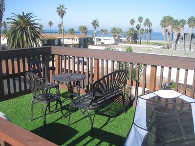 Unparalleled views, fresh sea air and sunshine on your rooftop deck... the best!