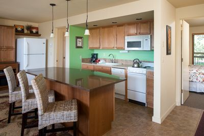 Dinning room and fully equipped kitchen for all cooking needs