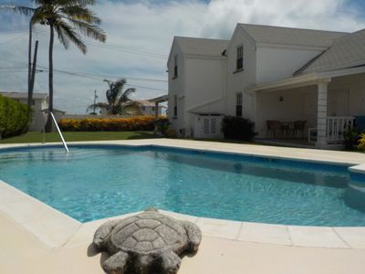 Great for surfers!!!  Lovely 2 bed 2 bath apt. with sea views and shared pool.