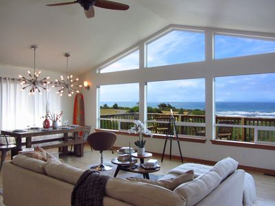 Photo for Spectacular Ocean Views, Modern, Walk to Beach, WiFi, BBQ, Packages Available