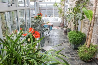 Brilliant Award Winning Cornish Farm House With Stunning Gardens And Parking For 3 Cars Saint Ives Download Free Architecture Designs Rallybritishbridgeorg