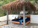 Enjoy relaxing on the queen-size DAYBED by the sea before or after your snorkel!