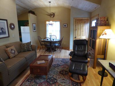 Living And Dining Area With Several Antiques