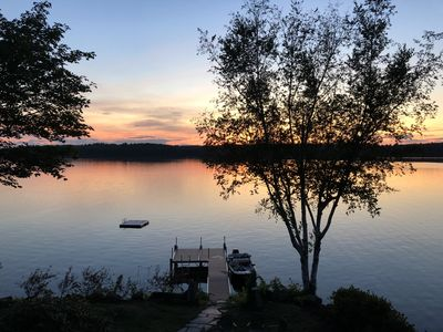 Spectacular Maine Cobbossee Lakefront Home with Hot Tub and Dog Friendly