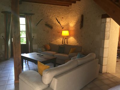 Photo for Country house 5 minutes from the pretty village of Aubeterre sur Dronne