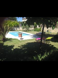 Photo for Villa + pool + terrace and garden 750m2 5 minutes TGV Avignon
