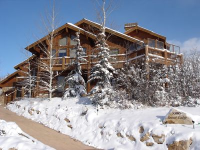 Photo for Sunset Lodge - 4 Bd Lower Deer Valley Solamere Home with Hottub & Expansive View