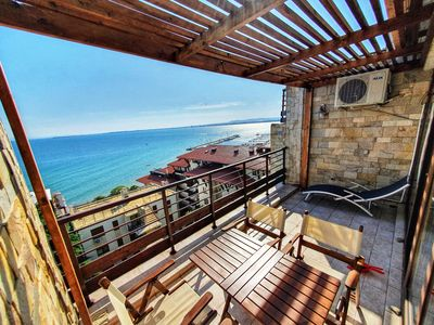 Photo for Luxury Penthouse Apartment with Panoramic Sea Views