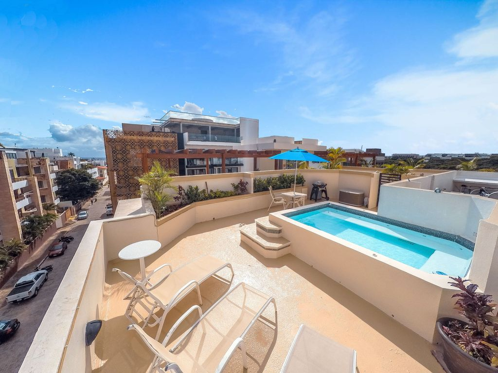 Coco Beach Penthouse With Private Pool And Roof Deck Shailly 302