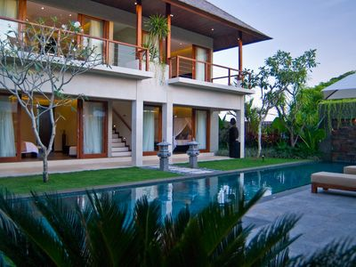 Photo for 4 Bedroom Pool Villa Relaxing 250m from beach, daily staff service!