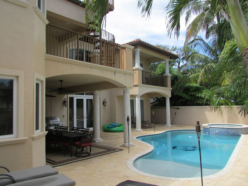 Mediterranean Masterpiece Steps To HomeAway Downtown - Before and after from a mediterranean house fort lauderdale