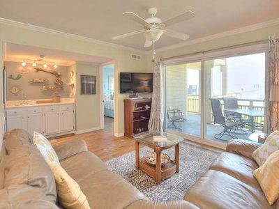 Photo for Ocean Front Condo in Desirable Caswell Beach-3bdrm/2 bath w/Pool