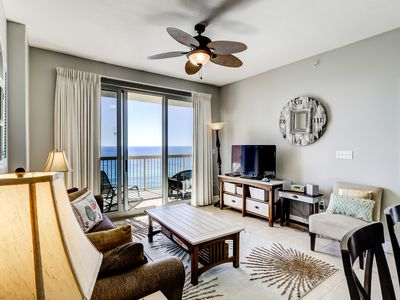 Photo for Two shared pools & a gym on-site! Gorgeous waterfront condo w/ incredible views!
