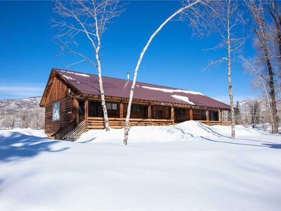 Photo for CABSA by Pioneer Ridge: Rustic Colorado Cabin! Enjoy a quiet setting by Buff Pass