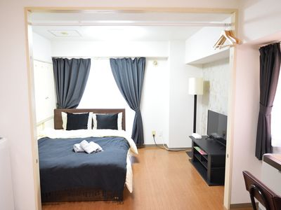 Photo for SP 15, 16/8 2 people Odori Park, Susukino walking distance!Unlimited Wifi