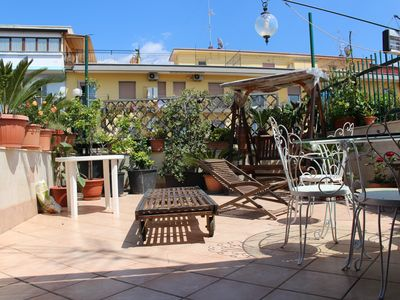 Photo for Lovely flat with wonderful private terrace!