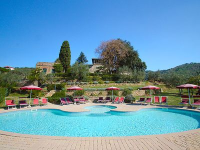 Photo for Apartment Villa Papiano  in Vinci, Florence Countryside - 5 persons, 2 bedrooms