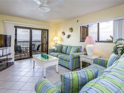 Photo for Carlos Pointe 336, 2 Bedrooms, Gulf Front, Elevator, Sleeps 6, Heated Pool