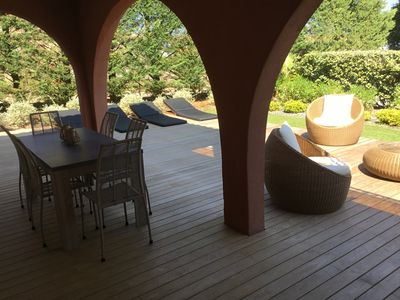 Photo for Appart F2 entirely renovated, at the entrance of St Tropez, 150m from the beach