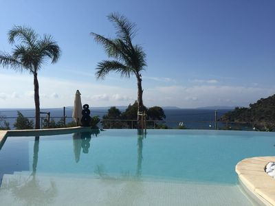 Photo for T2 a few steps from the beach with pool - Rayol Canadel Pramousquier