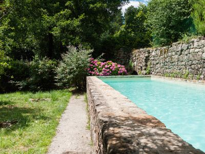 Photo for Gîte with private swimming pool in South Ardèche