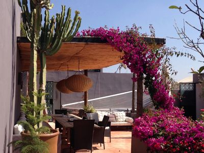 Photo for Luxury, super-stylish riad in the heart of the Marrakech medina - fully staffed