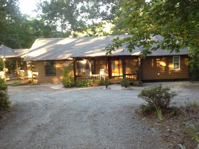 Lakeside Log Cabin With All Modern Conveniences Huge Gazebo And Lots Of Parking