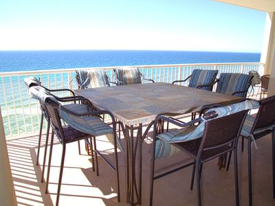 Photo for SPECTACULAR CORNER UNIT  COME ENJOY THE BREATHTAKING VEIWS ON THE LARGE BALCONY