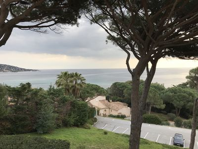 Photo for Apartment Sainte MAXIME sea view and 300 m from the beaches of Nartelle