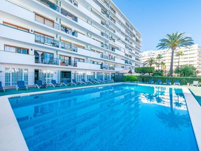 Photo for Offer!! 10% discount on Carole Apartment, with pool in the Port d'Alcudia, for two guests