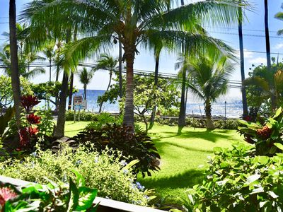 Photo for Oceanfront Tropical Oasis in Kailua Kona