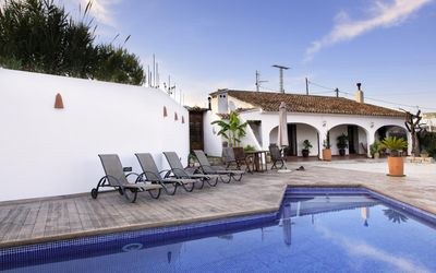 Photo for CANORET - Villa with private pool for 6 people in Canor, Benissa