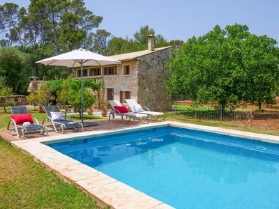Photo for Located right in the most beautiful Mallorcan countryside with an impressive vie
