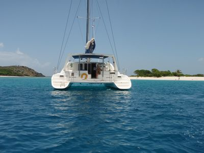 Photo for Luxurious 4-cabin catamaran with private baths & AC