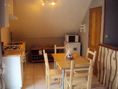 Photo for Comfortable cottage, sleeps 4, located at the foot of the Ballon d'Alsace